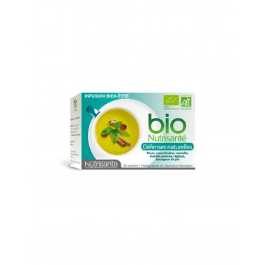 NUTRISANTE INFUSION BIO DEFENSES NATURELLES 20 SACHETS
